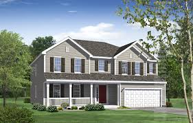 House Picture Home Rendering House Illustration The Brookstone Home Series
