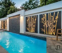 contemporary outdoor wall art wall art design ideas elegant modern
