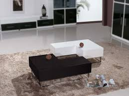 Furniture  Modern Coffee Table Design With Nice Storage Modern - Living room coffee table sets