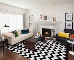 Yellow And Gray Living Room Rugs Chevron Pattern Ideas For Living Rooms Rugs Drapes And Accent