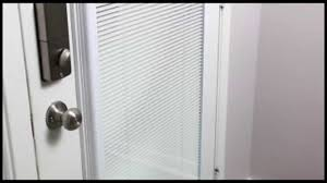 odl add on blinds for doors features youtube