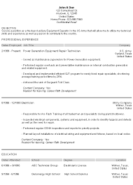 Skill Set Resume Examples by Putting Military Resume Examples To Good Use Career Rush Blog