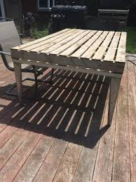 Repurposed Coffee Table by Pallet Patio Coffee Table Pallet Furniture