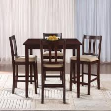 Five Piece Dining Room Sets Essential Home Hayden 5 Piece Upholstered Dining Set Shop Your
