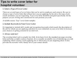 Volunteer Examples For Resumes by Volunteer Cover Letter Examples 10 4 Tips To Write For Library