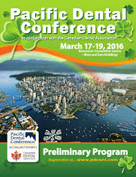 2016 pacific dental conference preliminary program by pacific