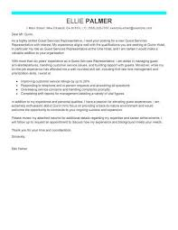 Cover letter format for hospitality industry Cover Letter Now