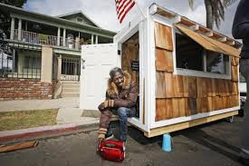 Tiny Homes California by Tiny Homes For Homeless In Oregon And California The Shelter Blog