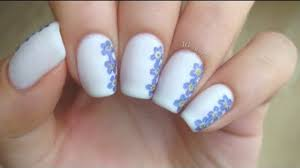 easy diy dried flower nail art video dailymotion