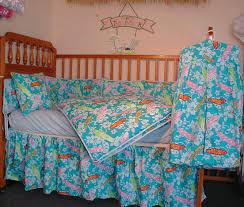 Ocean Themed Bedding Hawaiian Surf Baby Bedding 6 Piece Sets