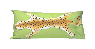 home wheaton whaley designs leopard lumbar dana gibson original