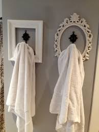 perfect look for basement bathroom hang your robe towels etc fun