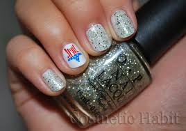 nail art 4th of july design youtube 4th of july nail art tutorial