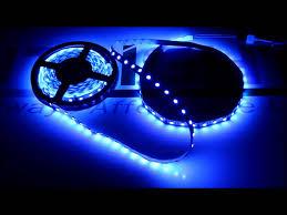 Blue Led String Lights by Led Light Blue Simple Led Light Installation Diy