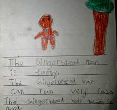 gingerbread writing paper rocking dan teaching man the gingerbread man description song the gingerbread man description song has now been seen in 41 different nations i got some lovely feedback from a number of teachers who used the song to