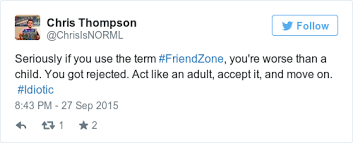 Here     s why the word      friendzone      needs to die        maybe you     re not such a nice guy after all