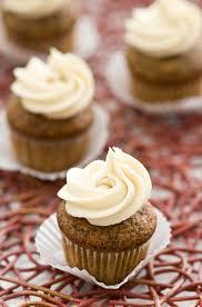 Chocolate and Honey Banana Mini Cupcakes with Luscious Honey Cream Cheese Frosting