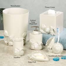 bathroom seashell bathroom accessories kmart bathroom sets