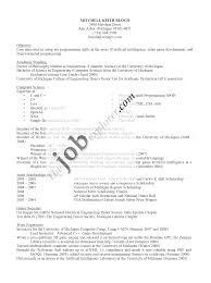 Fresh Graduate Computer Science Resume Template Example Iwebxpress Resume And Cover Letter