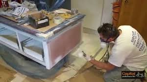 Professional Spray Painting Kitchen Cabinets Paint Spraying Kitchen Cabinets Siematic Kitchen Refinishing