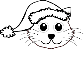 black and white cat cartoon free download clip art free clip