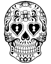 free printable day of the dead coloring pages best coloring