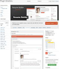 Resume Builders Online by How To Create An Online Resume Using Wordpress Elegant Themes Blog