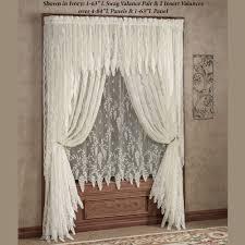 Wisteria Home Decor by Wisteria Arbor Lace Window Treatments