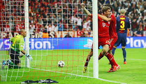 Pertandingan Bayern Munchen vs Barcelona