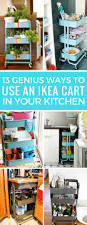 13 super clever ikea raskog cart uses for the kitchen just