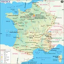 Map Of Cities In Usa by France Map Map Of France