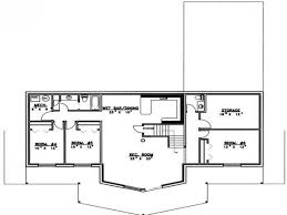 House Plan With Basement by Bedroom House Plans With Basement Modern 5 Bedroom House Plans 4