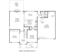 simple elevation house plan in below 2500 sq ft architecture