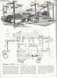 vintage house plans 2000 square feet mid century homes