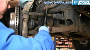 how to install repair replace front shock absorbers dodge ram 02