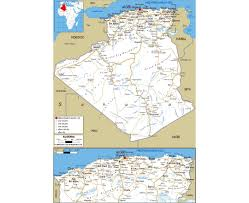 Map Of Mali Africa by Maps Of Algeria Detailed Map Of Algeria In English Tourist Map