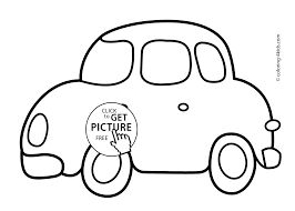 car transportation coloring pages for kids printable free
