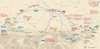 Oldest Map Of North America by Maps Trail Of Tears National Historic Trail U S National Park