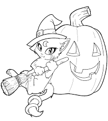 coloring halloween cards gallery coloring page