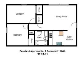 750 Sq Ft Apartment Peakland Apartments Apartments For Rent Lynchburg Va