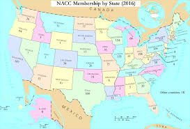 Large Map Of Usa by Member Map The National Association Of Catholic Chaplains