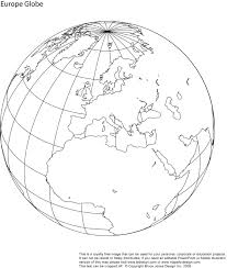Blank Europe Map by Printable Blank World Globe Earth Maps U2022 Royalty Free Jpg