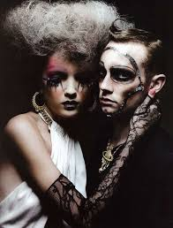 images about Couples on Pinterest   Fashion editorials  Man     Pinterest Couture Clown Couples        The Final Destination      Harper     s Bazaar Hong Kong Editorial is Creepy