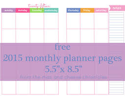life planner template free 2015 monthly planner pages freebies printables free 2015 monthly planner pages