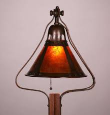 Stickley Floor Lamp Michael Adams Gustav Stickley Designed Oak Floor Lamp California