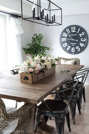 Dining Room Table Decor Ideas by Best 25 Rustic Dining Rooms Ideas That You Will Like On Pinterest