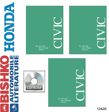 2001 2002 2003 2004 2005 honda civic shop service repair manual