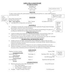Sample Of Resume Skills And Abilities by Download Skill Examples For Resumes Haadyaooverbayresort Com
