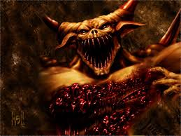 halloween background of wich canada is a feeding ground for demons god hates canada trust