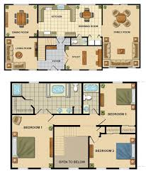 Two Story Floor Plan Modular Floorplans Ace Home Inc